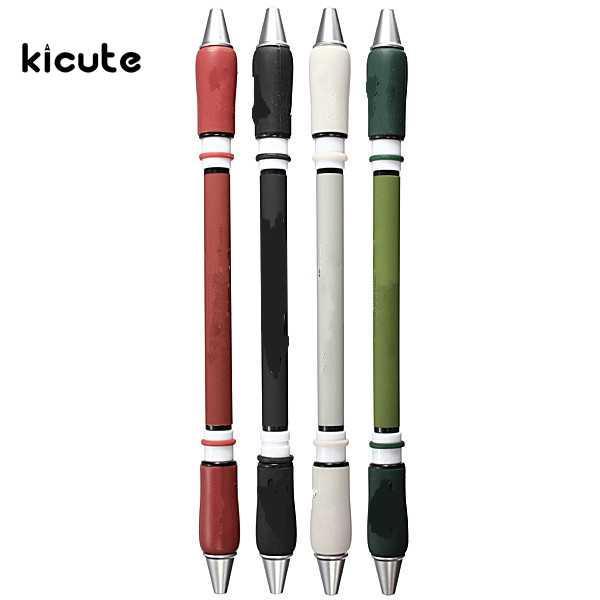 1PCS أحدث تصميم الحديثة 21CM غير زلة المغلفة المهنية غزل القلم للمنافسة بطل يصلح لهدية لون عشوائي