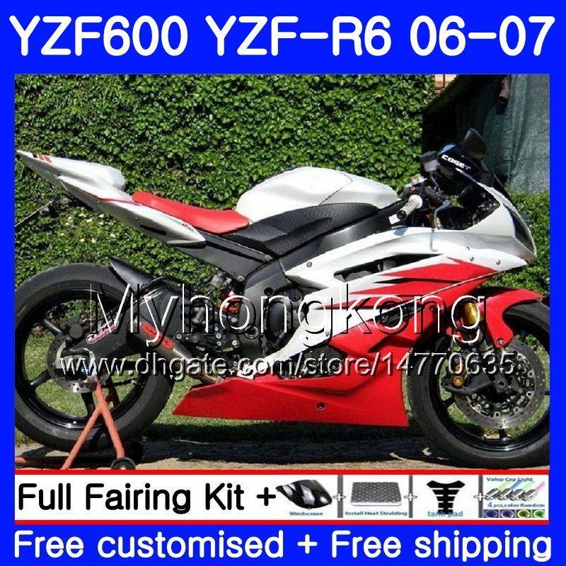 "YAMAHA  YZF R6R /""R/"" MODEL 2006 2007 RED R SERIES WINDSCREEN"