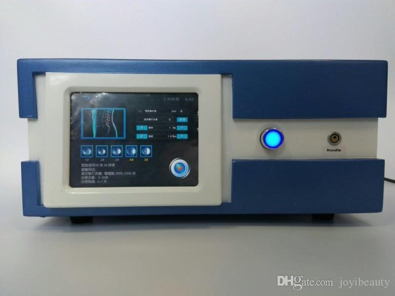 Máquina de ondas de choque para la disfunción eréctil Terapia de ondas de choque neumáticas Sistema de terapia de ondas de choque radiales Máquina de terapia de ondas de sonido