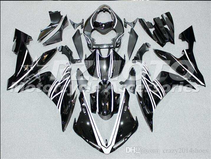 3 Free Gifts New motorcycle Fairings Kits For YAMAHA YZF-R1 2004-2005-2006 R1 04-05-06 YZF1000 bodywork hot sales loves Black B21