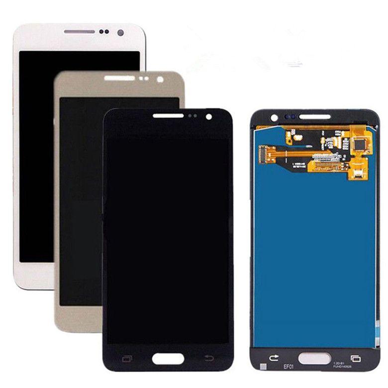 Do Samsung Galaxy A3 2015 A300 A3000 A300F A300M Wyświetlacz LCD + Zespół digitalizacyjny ekranu Dotykowy może regulować jasność