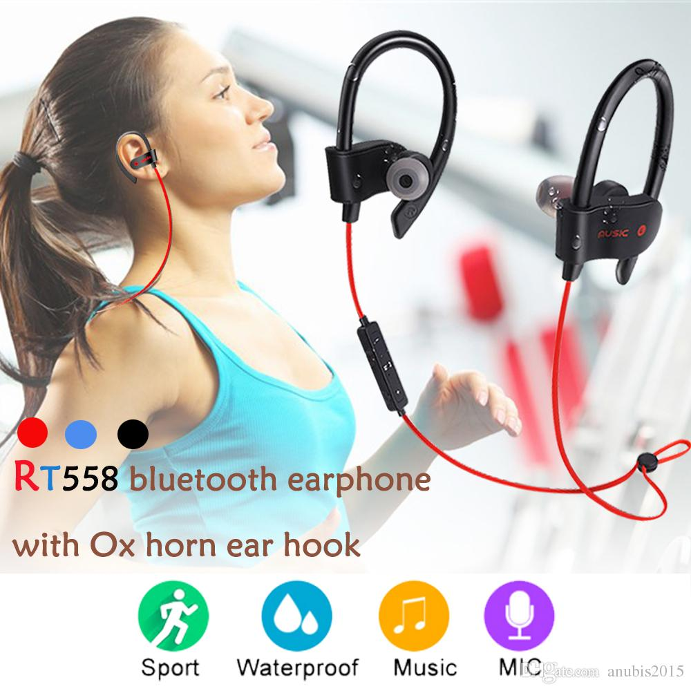Movement Wireless Headphone Rt 558 In Ear Bluetooth Earphone V4 2 Stereo Headset With Mic For Xiaomi Iphone6 7 8s X Samsung Huawei Corded Phone Headset Headphones For Cell Phones From Anubis2015 3 03 Dhgate Com