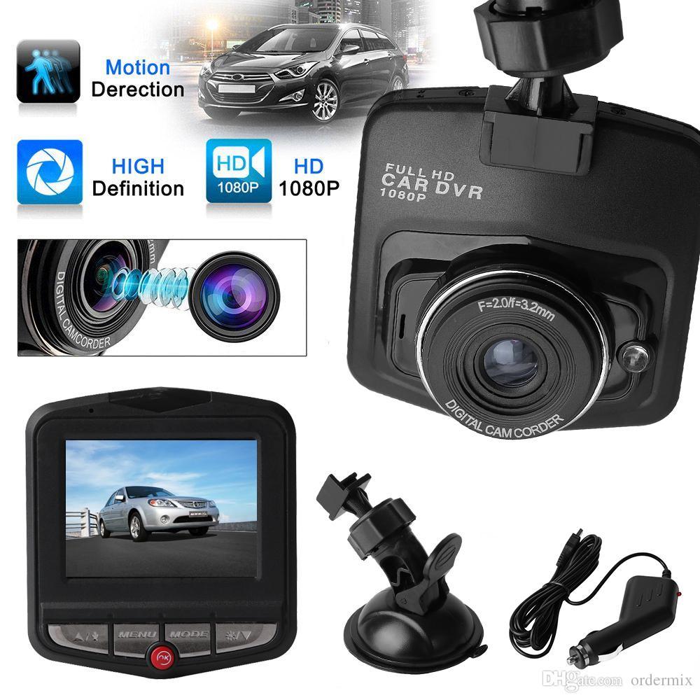 """2.4 """"سيارة ميني DVR كاميرا Dashcam كامل HD1080P GT300 فيديو مسجل G- الاستشعار للرؤية الليلية كاميرا"""