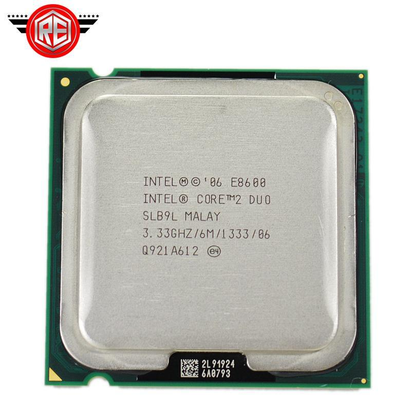 Intel Core 2 Duo E8600 Processor SLB9L DUAL-CORE 3.33GHz FSB1333MHz Desktop LGA 775 CPU