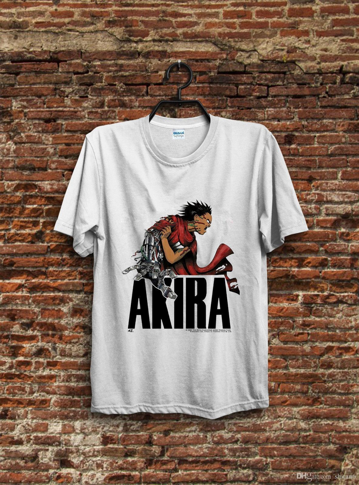 Vintage Akira T Shirt Tetsuo Shima 1988 Fashion Victim Anime Ghost In The Shell 2018 Short Sleeve Cotton T Shirts Man Clothing Canada 2020 From Shitan6 Cad 16 59 Dhgate Canada