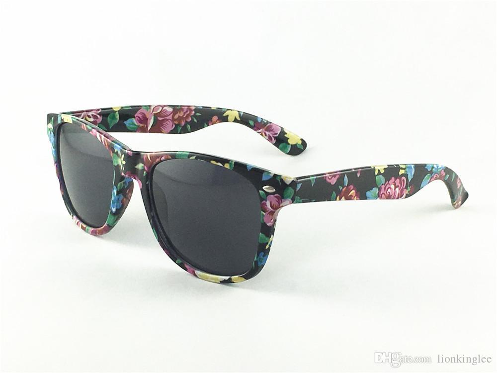 Marka Vintage Designer Okulary przeciwsłoneczne dla mężczyzn Kobieta Luksusowy Moda Węża Skóry Kwiat Kwiat Okulary Osobowości Trend Okulary UV400