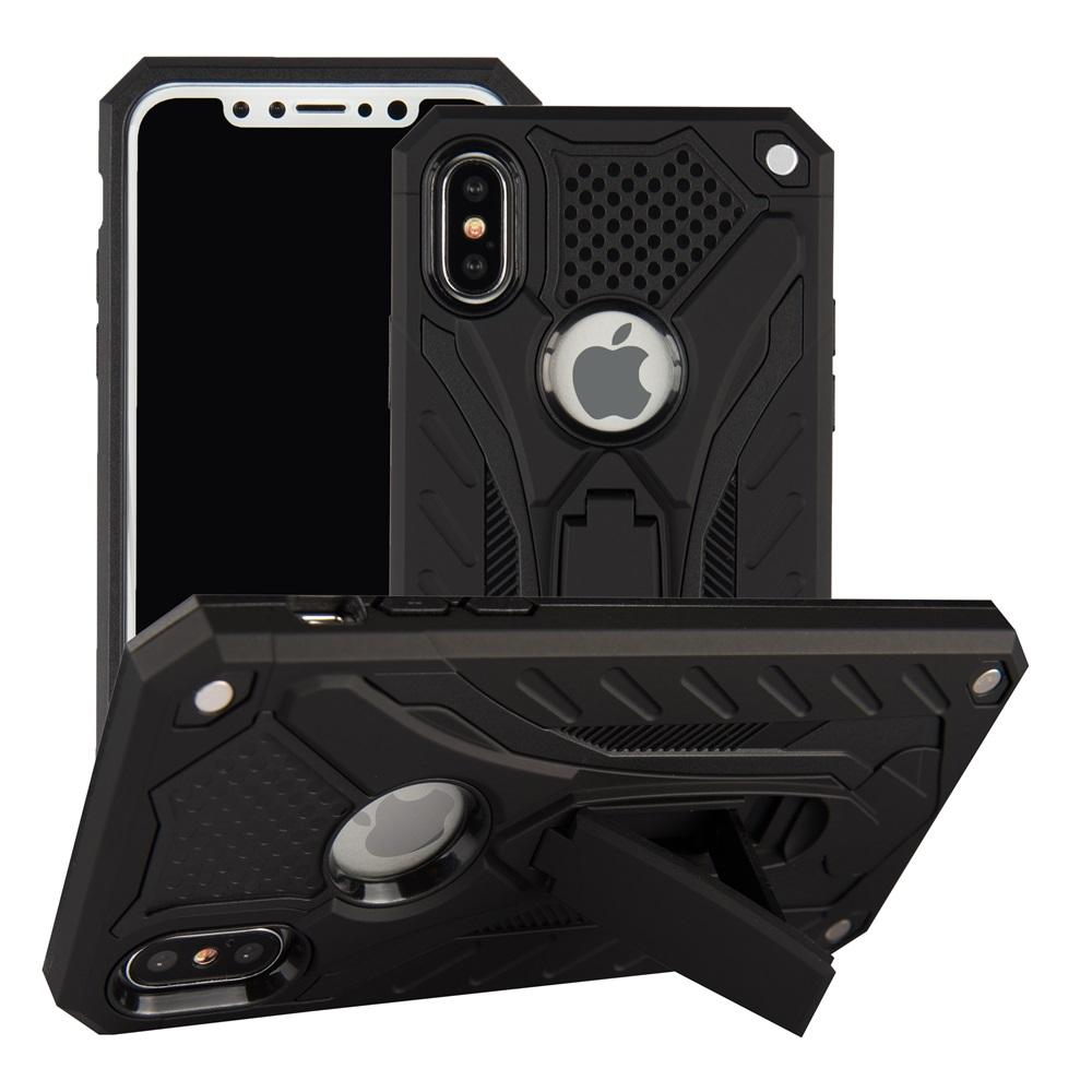 Capa para iPhone 7 8 à prova de choque Gota Militar Testado caixa do silicone para iPhone 6 6s mais x 5 5s SE Kickstand TPU Capa