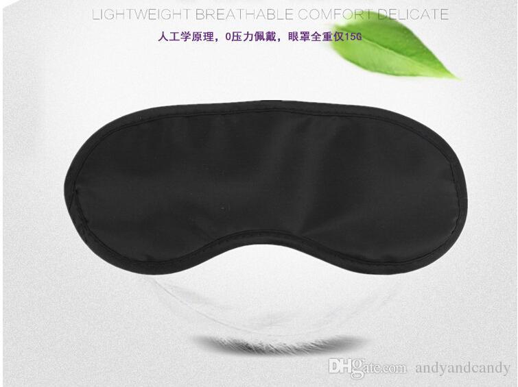 Schlafmaske Leicht und Komfortabel Super Soft Adjustable Shift Work Naps Night Blindfold Eyeshade