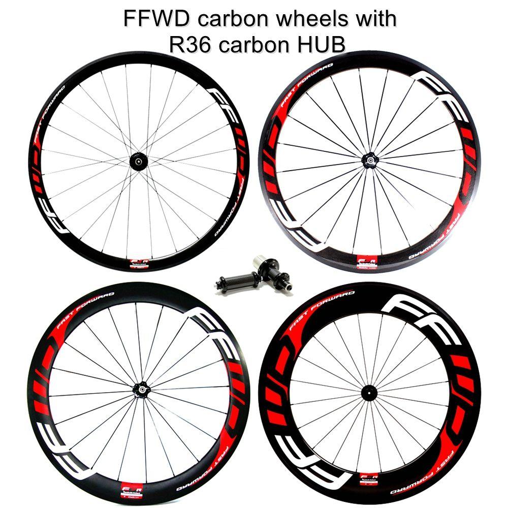 60-88mm Bicycle Carbon Rim 700C Road Bike Rims Carbon Fiber Clincher Rims 38-50
