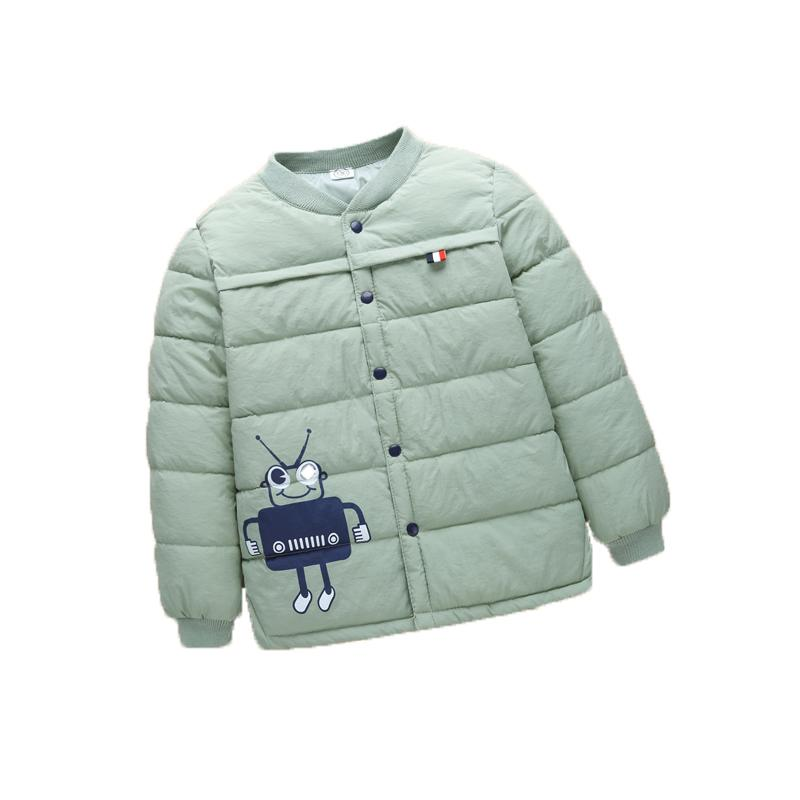 Giacca invernale Boy Kid Light Cotton Coat Bambini Character Warm Toddler Girl Jacket 2018 Spring Outwear Età 0-5 anni