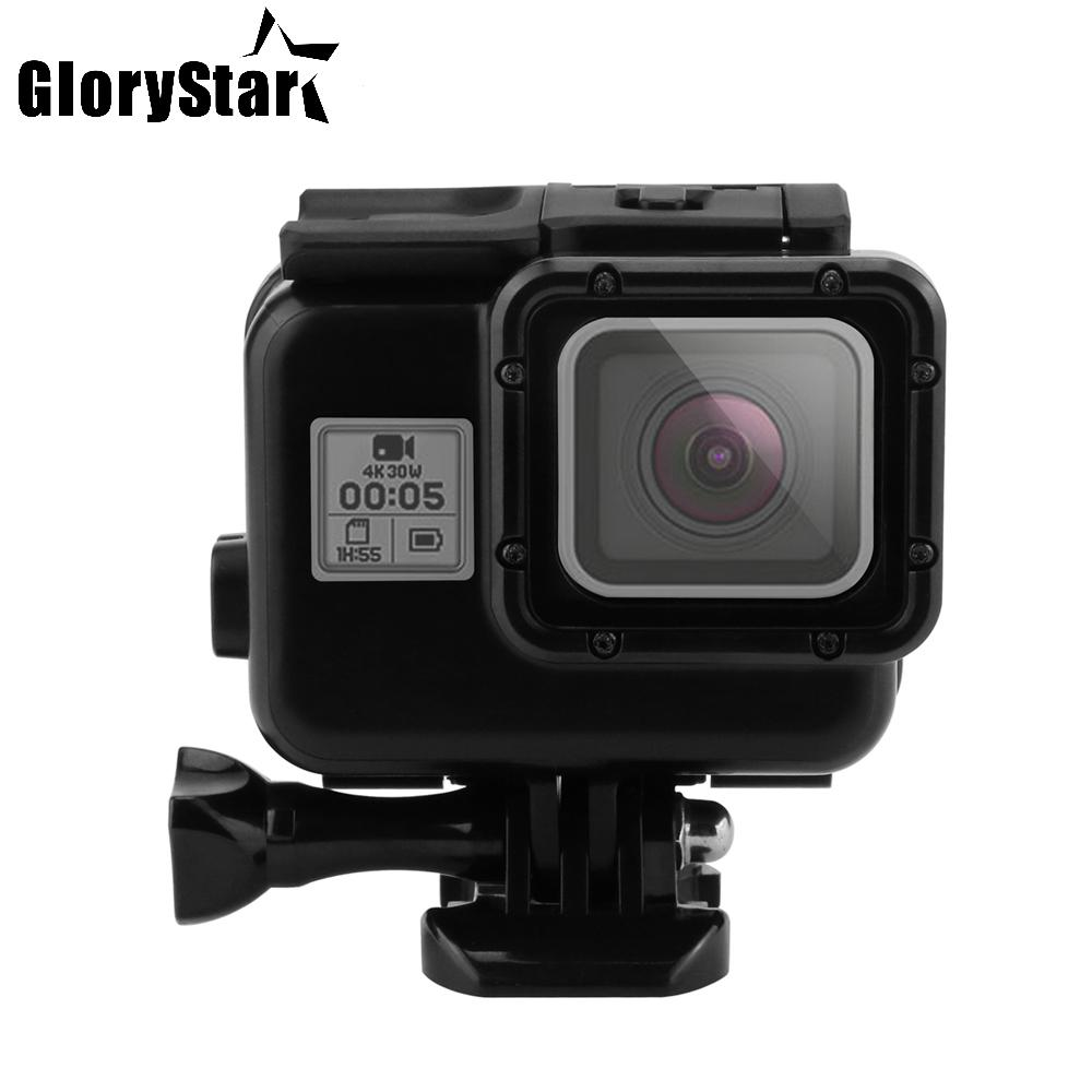 New 45m Diving Waterproof Case for GoPro Hero 6 5 Black Action Camera Underwater Housing Case Mount for Go Pro 6 5 Accessories