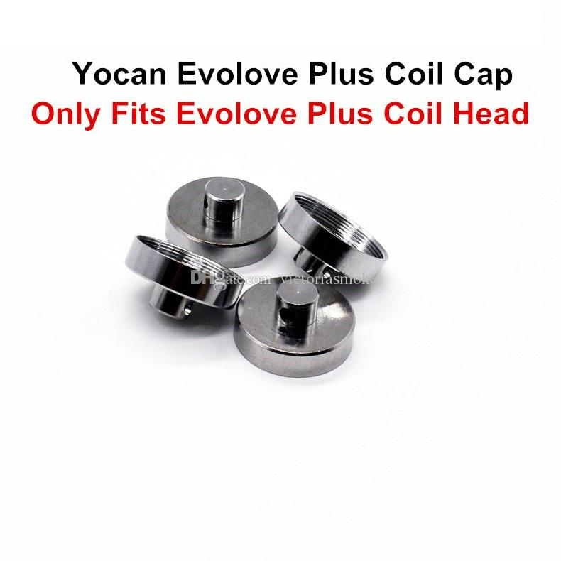100% Authentic Yocan Evolove Plus Coil Caps For Yocan Evolve Plus Coil Heads ecigs