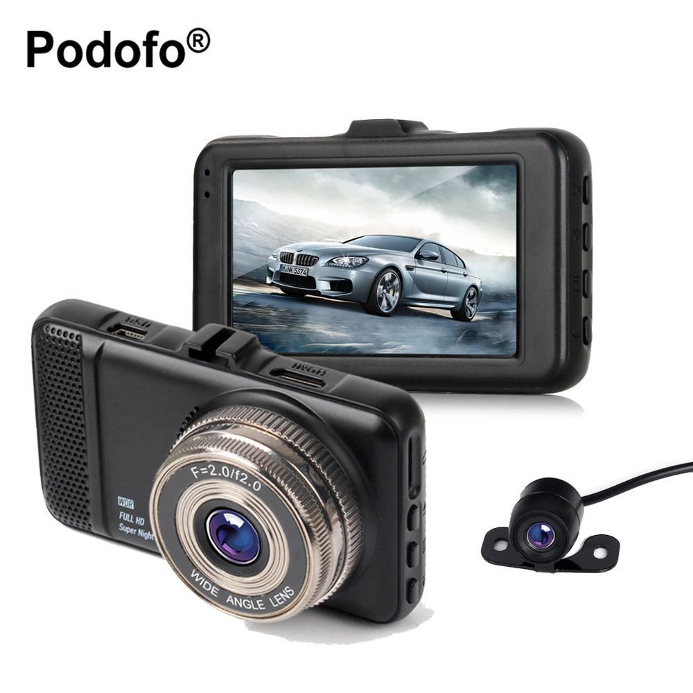 미니 후면보기 카메라 도매 3 인치 듀얼 렌즈 자동차 DVRs 카메라 풀 HD 1080P 자동차 비디오 등록기 대시 캠코더 G- 센서