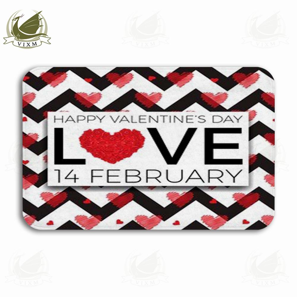 Vixm Valentines Heart And Love Background For Valentines Day Welcome Door Mat Rugs Flannel Anti Slip Entrance Indoor Kitchen Bath Carpet Replace Carpet Kashan Rugs From Bestory 12 07 Dhgate Com