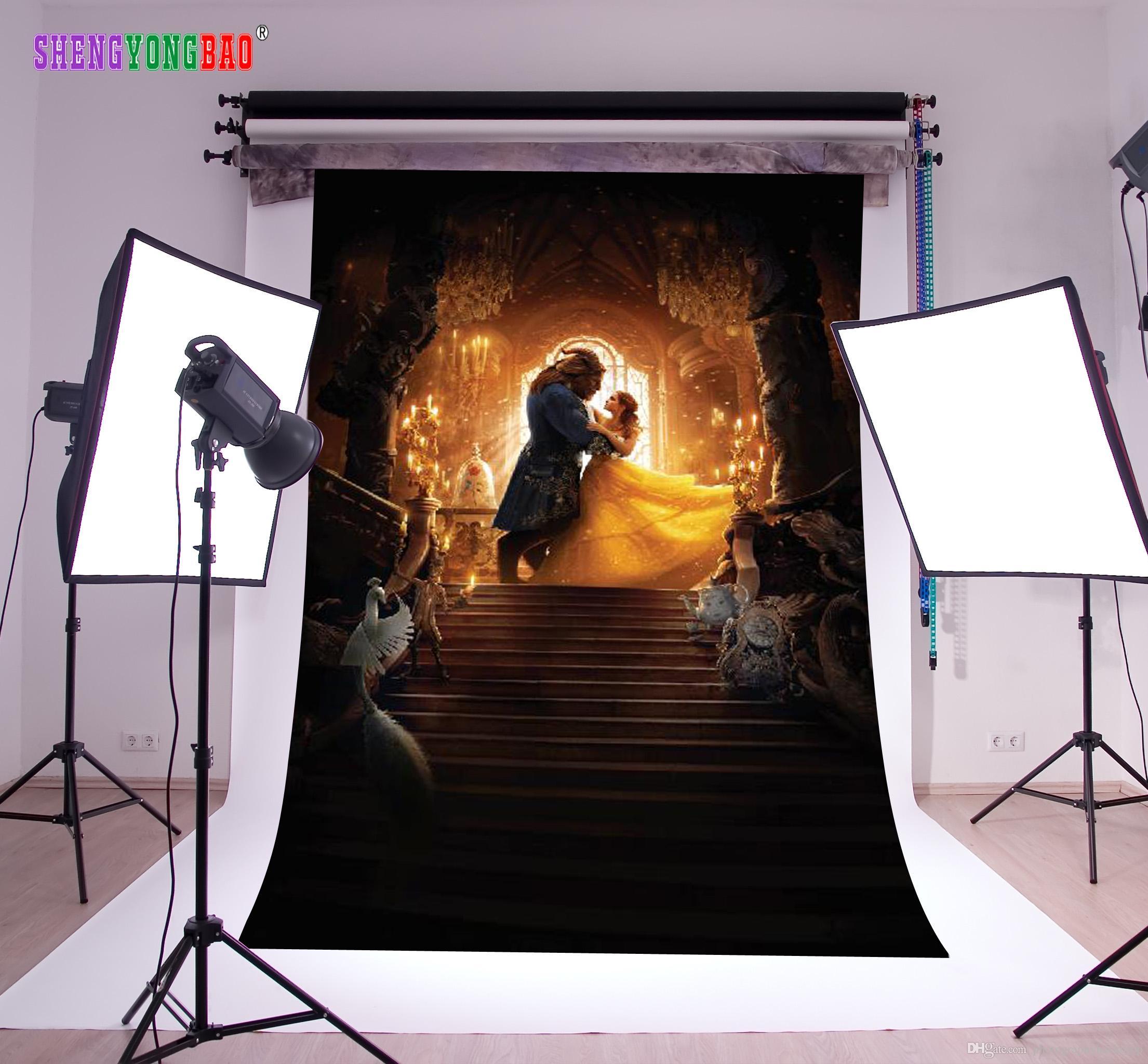 Wielkanocny temat Vinyl Fairy Tale fotografia backdrops rekwizyty Digital Printed Photo Studio Background NTZP-68