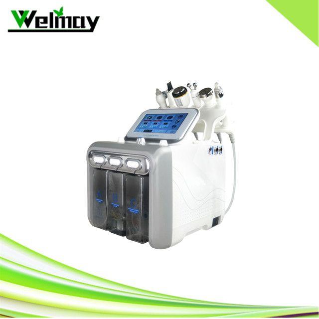 6 in 1 dermabrazyon makinesi yüz temizleyici elmas dermabrazyon gözenek temizleyici hidro dermabrazyon makinesi