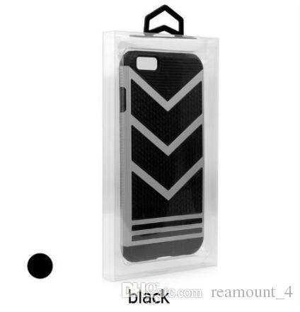 Toptan cep telefonu kabuk perakende şeffaf şeffaf pvc plastik ambalaj kutusu iphone x 8 8 artı samsung s9 koruyucu kılıf