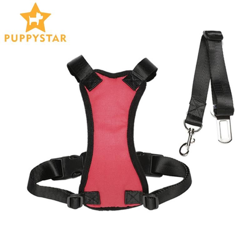 Pet Dog High Quality Vehicle Harness Adjustable Dog Comfortable Harness For Small Medium Large Dog Stay Car Safe Harness PY0005