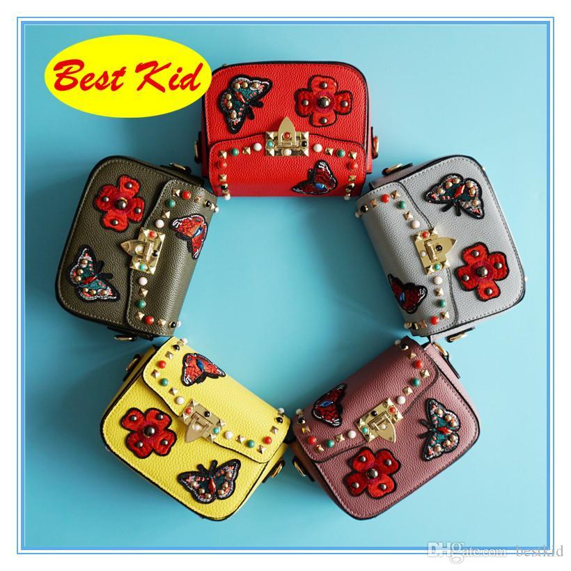 Elegante nuova spedizione DHL! Farfalla adulta classica gratuita per lo shopping Bestkid Messenger Bags Kids Adolescenti Borse Borse Brand Borse per portafogli DOFO