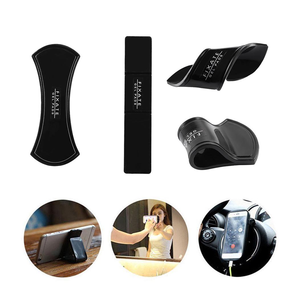 Magic Nano Gummi Pad Universal-Aufkleber No Trace Handy-Halter-Auto-Kits Auto Bracket Pods Sticky Gel-Pad Großhandel