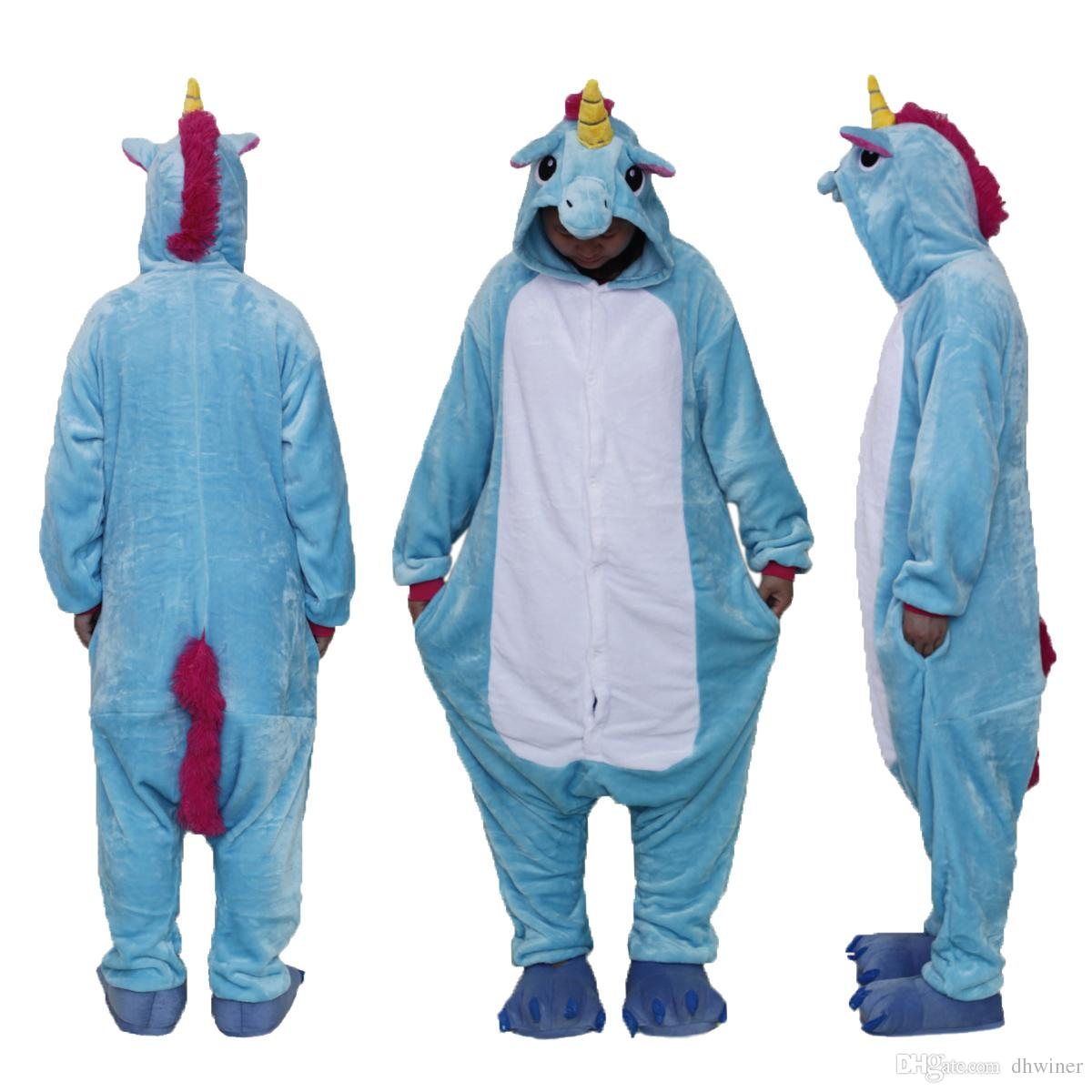 Unisex Adult Animal Christmas Onesie Pajamas Cosplay Costume Loungewear