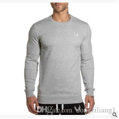 Новый дизайн мужчины толстовка толстовка человек повседневная мода с капюшоном пуловер тренажерные залы фитнес спортивная одежда для мужчин с M-2XL