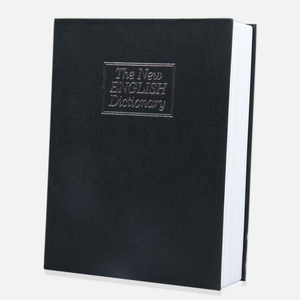 Home Storage Safe Box Dictionary Money Secret Book Cash Jewelry Safe Box Case Storage Box Organizer With Key Lock