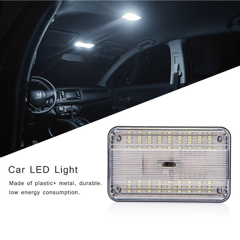 36 plafonds intérieurs de plafond de lumière de la voiture LED auto SMD rectangulaire - blanc lampe de plafond pour 12V CarsHigh Power White Auto lampe de toit Lumières de lecture