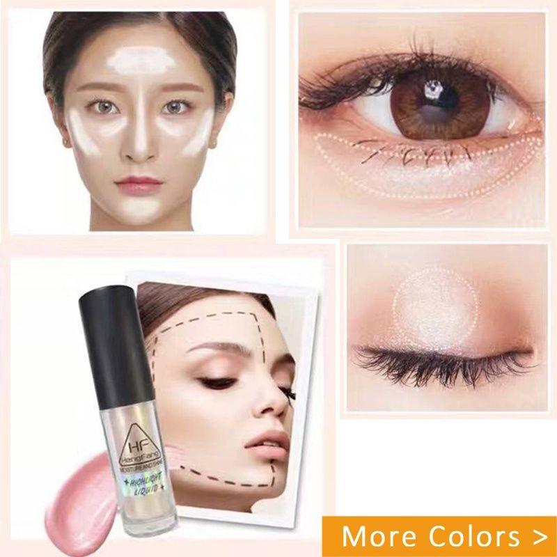 Heng Fang Silkworm скрасить жидкий хайлайтер влаги блеск хайлайтер макияж для лица и глаз контурной макияж