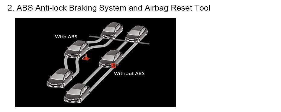 Automotive Diagnostic tool Car Scanner Diagnosis OBD2 Airbag ABS SAS SRS_05