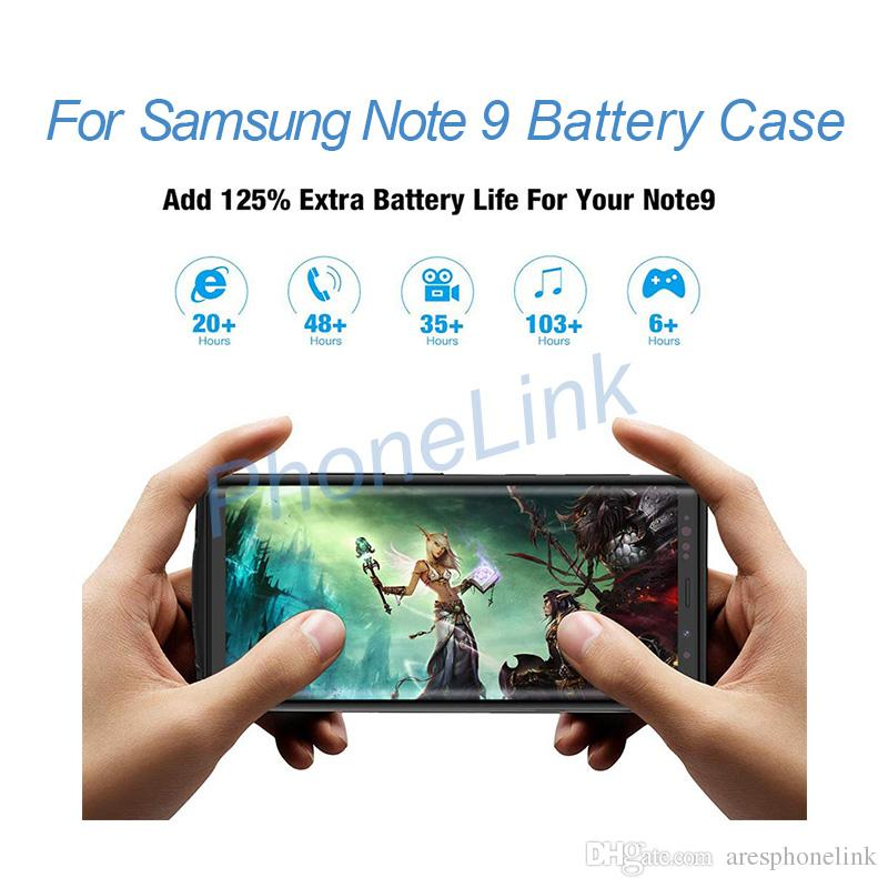 Rechargeable extended battery pack for samsung Note 9 charging power case for samsung Note 9 battery case