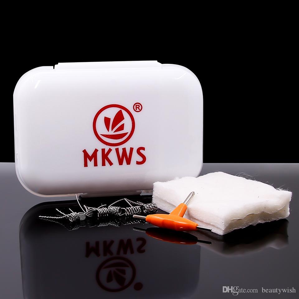 Mkws Ni80 7 In 1 Wire Box Prebuilt Electronic Cigarette Coil Vape ...