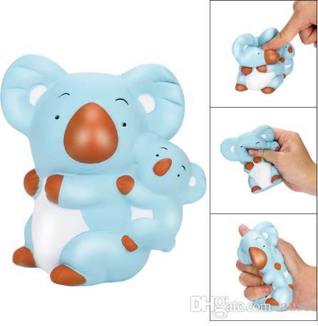 Nueva moda Squishies Koala lindo aumento lento Kawaii perfumado suave Squeeze Stress Reliever juguete con alta calidad venta caliente
