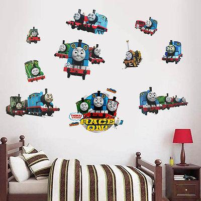 Removable Cartoon Kids Room Decor Vinyl Thomas Friends Train Gordon Railway Wall Sticker Diy Home Decal Cool Wall Decal Cool Wall Decals From Totwo3