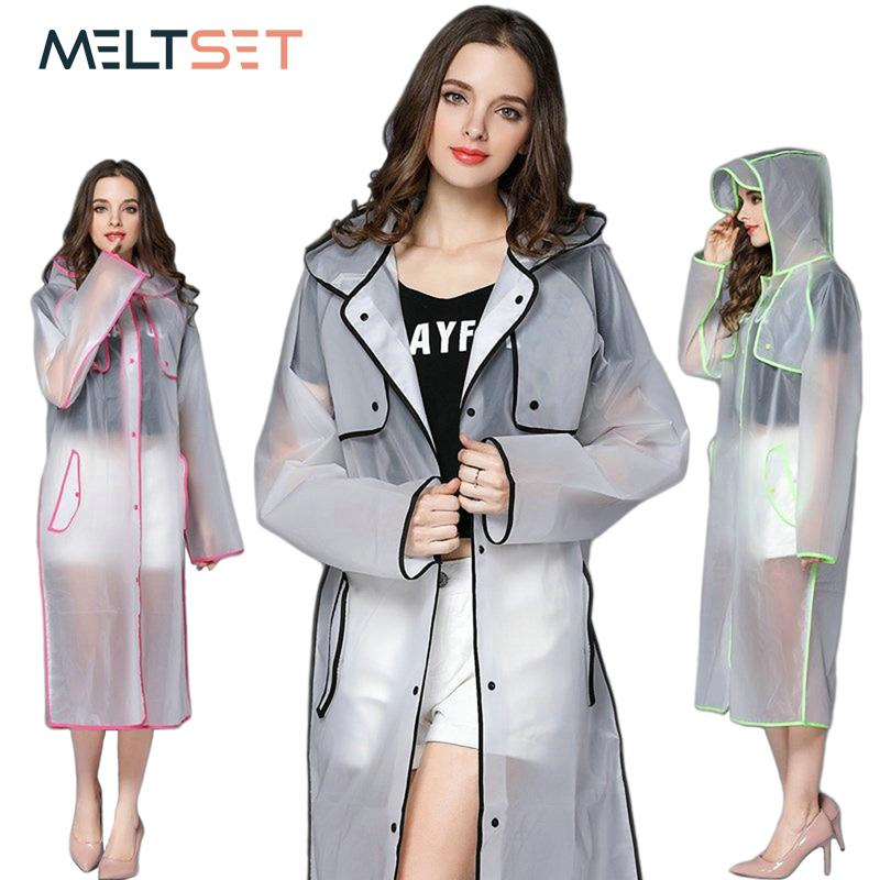 separation shoes professional order 2019 Transparent Rain Coat Women Long Raincoat Plus Size Hooded Impermeable  Trench Coat Motorcycle Rain Cover Camping Hiking Poncho From Rudelf, ...