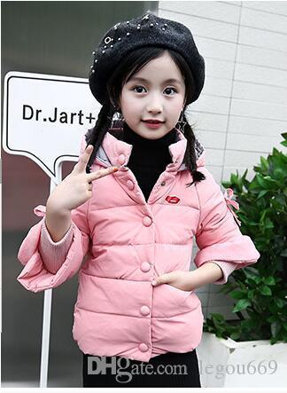 2019 autunno e inverno abbigliamento per bambini, piumino per bambini, ragazzi e ragazze, Tong Baobao, W507