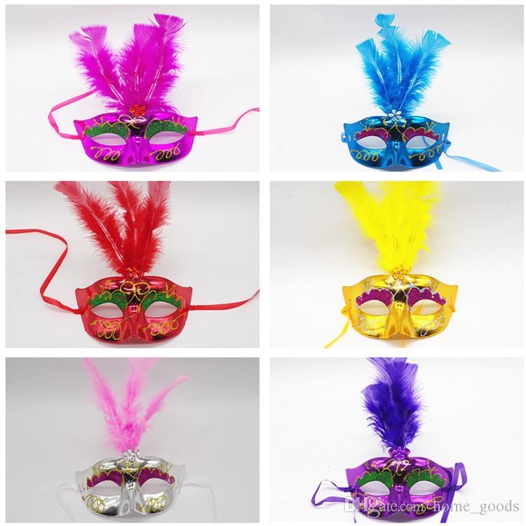 Feather Mask Masquerade wedding party Masks Dance Party Decoration Lady Sexy masks Carnival Mardi Gras Costume