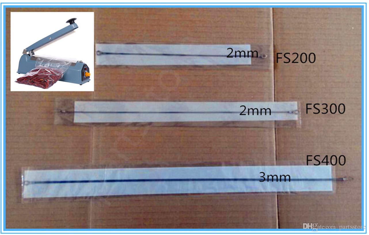 200//300//400mm Impulse Sealer Heat Wire Heating Plate Strip Sealing Machine UK