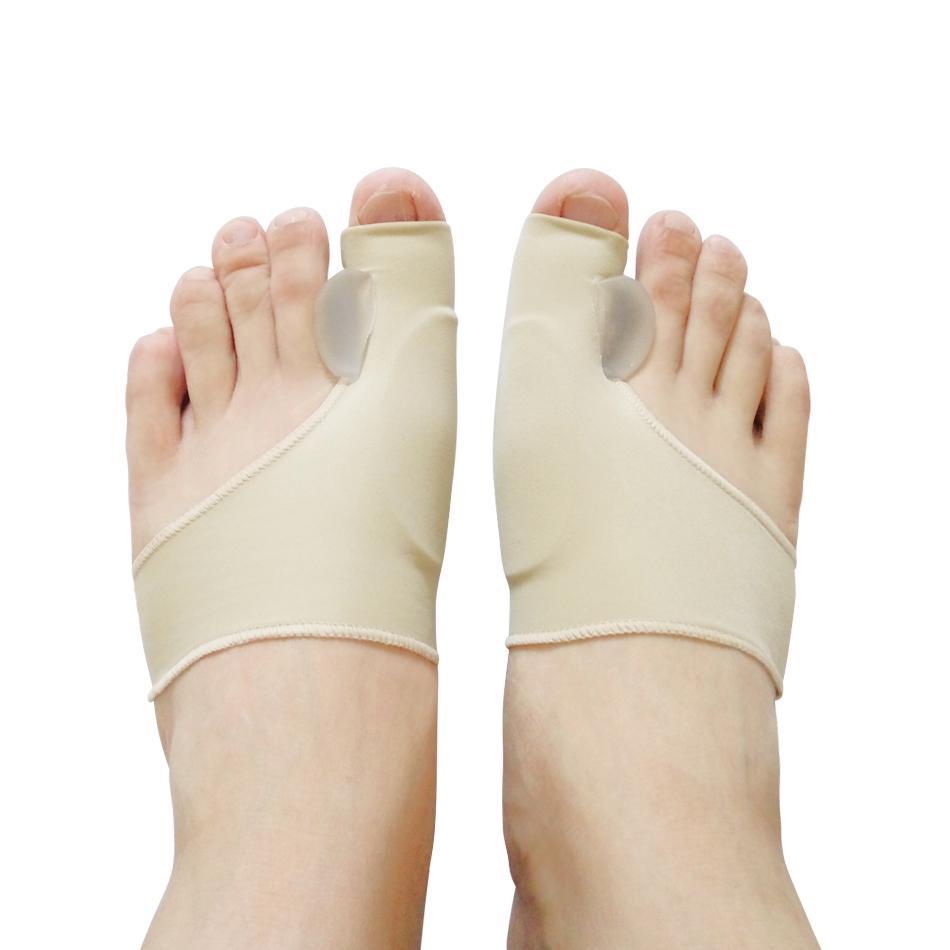 1 Çift Yeni Silikon Halluks Valgus Braces Büyük Şantaj Ortopedik Düzeltme Çorap Toes Ayırıcı Ayak Bakımı