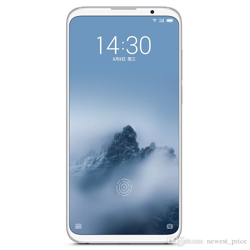 "Original Meizu 16 Plus 8GB RAM 128GB / 256GB ROM 4G LTE Teléfono móvil Snapdragon 845 Octa Core Android 6.5 ""Pantalla completa 20MP Cara ID Teléfono celular"