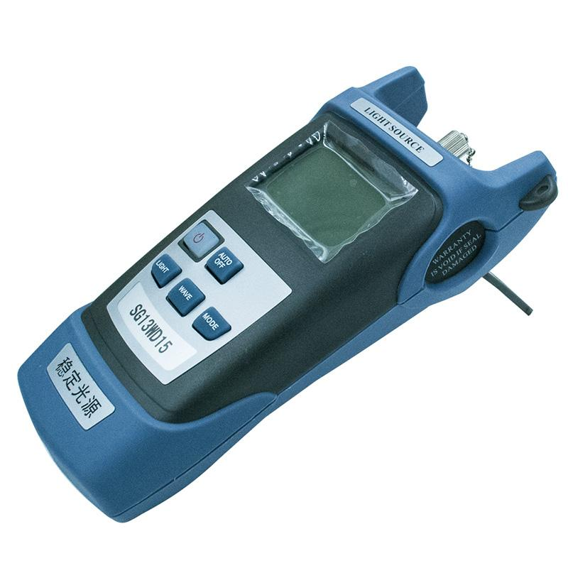 Handheld SG85AR70 Fiber optic light source 1310/1550nm Fiber red light source Fiber optic light source meter Free shipping