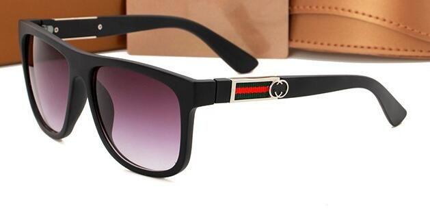 Mais recente moda estilo clássico armação de metal espelho colorido sol óculos de sol acessórios de moda óculos atacado 3880