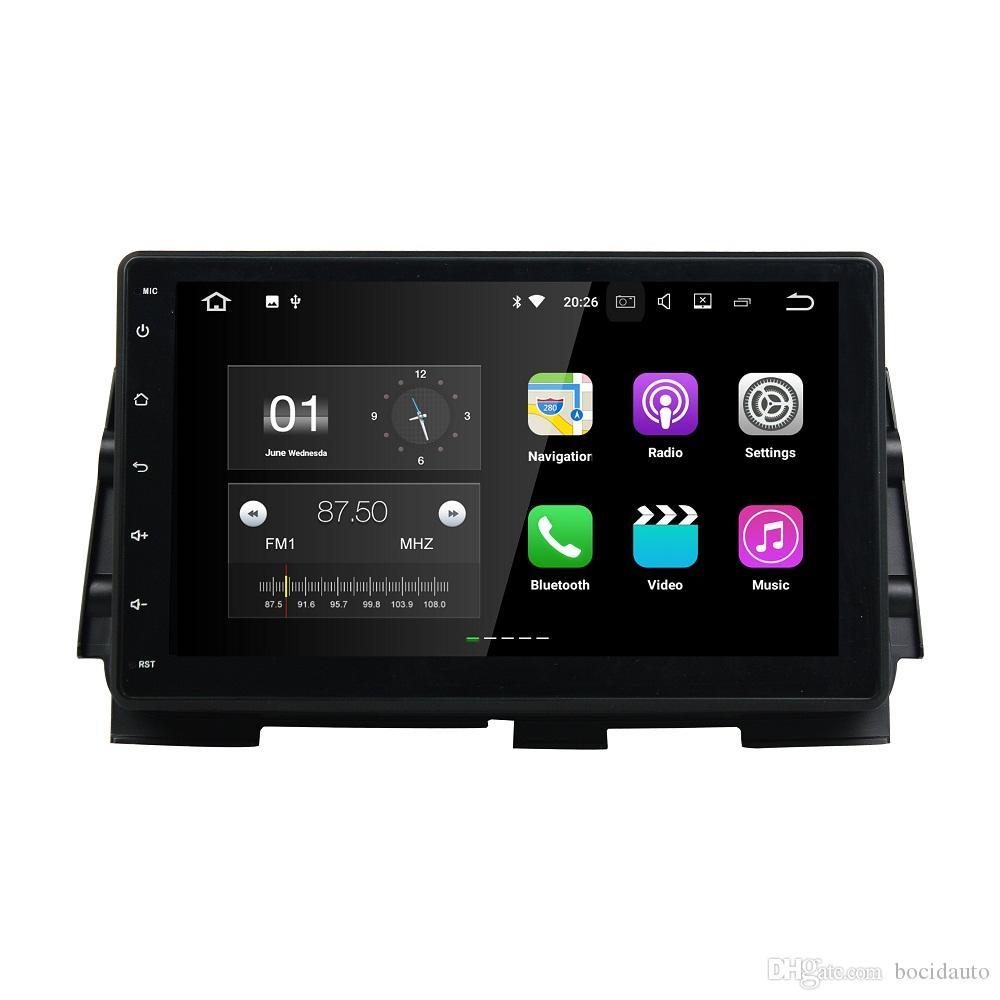 "2 GB RAM 2 din 10,1 ""Android 7.1 Autoradio GPS Multimedia Head Unit Auto DVD für Nissan Kicks 2016 Mit Bluetooth WIFI USB Spiegel-link"