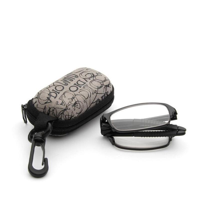 الترا ضوء الراتنج غير كروية مطوية نظارات القراءة الرجال النساء أزياء للجنسين نظارات للطي محاصر نظارات القراءة occhiali دا lettura