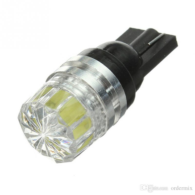 DC 12 V T10 W5W 194 168 T15 5050 SMD LED Saf beyaz Araba Araç Oto Kama Yan Kuyruk Işık Ampüller Sinyal Lambası