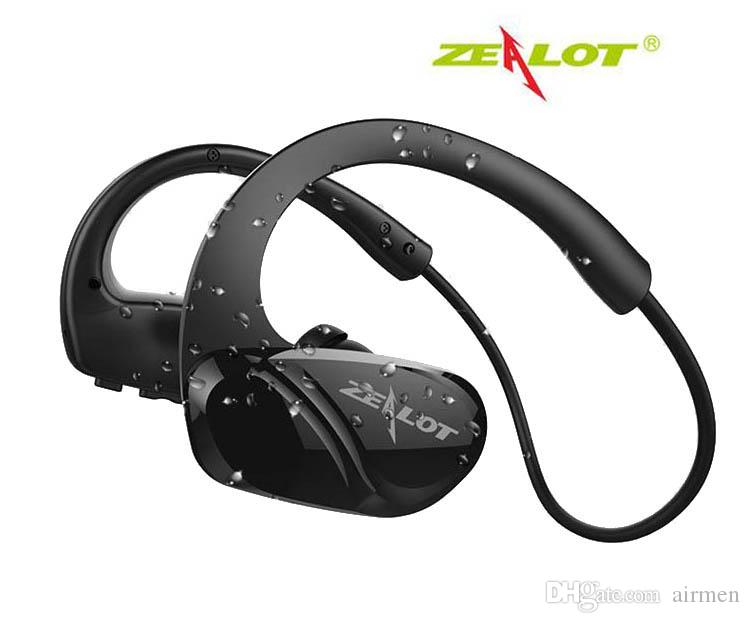 Zealot H6 Sports Wireless Earphone Handsfree Bass Stereo Bluetooth Headphones With Microphone For Running Exercise And Fitness Best Bluetooth Headset Earphones From Airmen 16 34 Dhgate Com