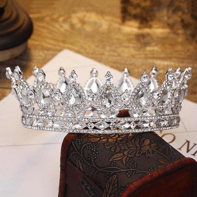 Designs Vintage Peacock Crystal Tiara Wedding Crown Bridal Tiara Accessories Rhinestone Tiaras Crowns Pageant S919