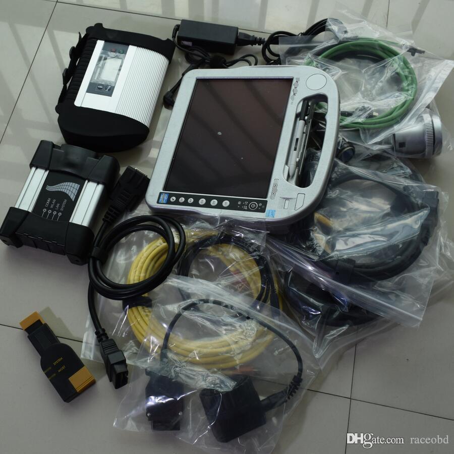Strumento di diagnosi Star Compact 4 MB SD C4 BMW ICOM ICOM successivo 2in1 Touch screen del laptop I5 4G HDD 1TB Win7 Pronto all'uso