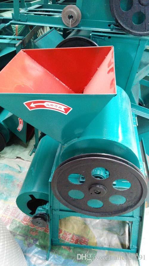 Pequeño descascarador de maní para aceite de prensa, máquina descascaradora de maní, máquina para pelar maníes