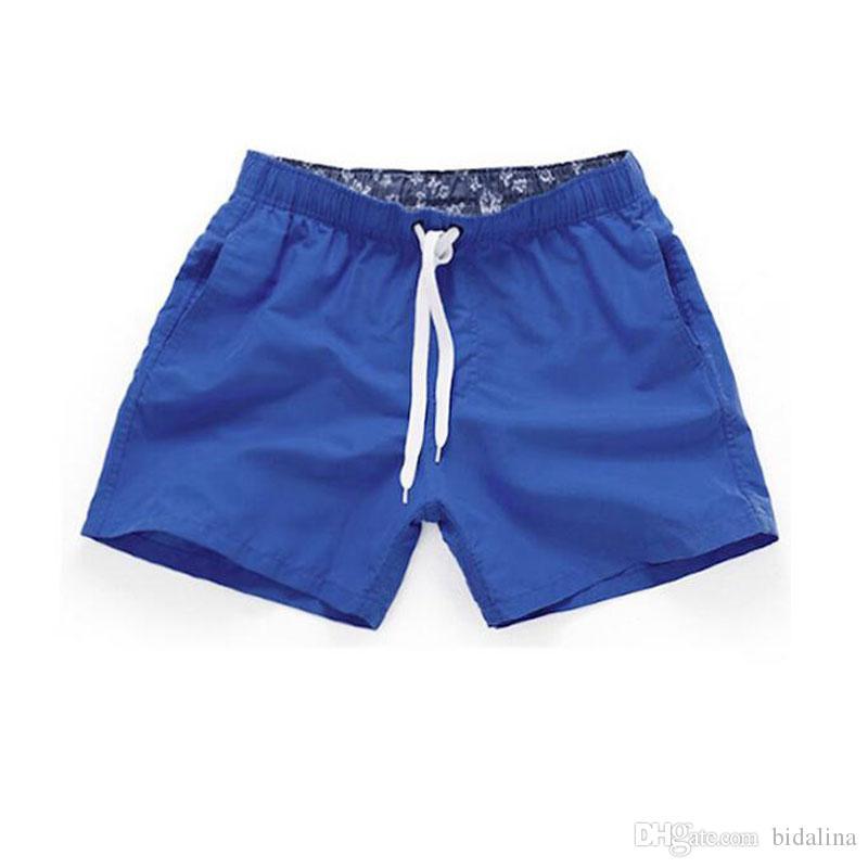 Short de plage pour homme 2017 New Summer Shorts pour hommes Short de mode en coton pour hommes Short de plage pour Bermudes Short de bain pour hommes